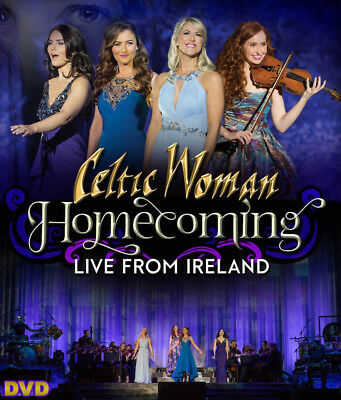 Celtic Woman - Homecoming: Live From Ireland (2018) | NEW & SEALED DVD