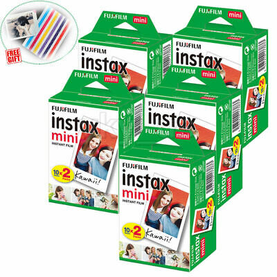 100 Sheets Fujifilm Instax Mini Instant Film For Mini 9 8 8+ 7s Printer SP-2 SP1
