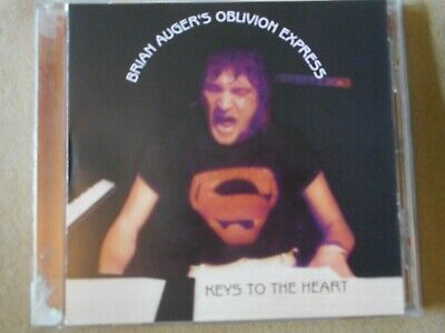 """Brian Augers Oblivion Express """"Keys To The Heart"""" Cd"""