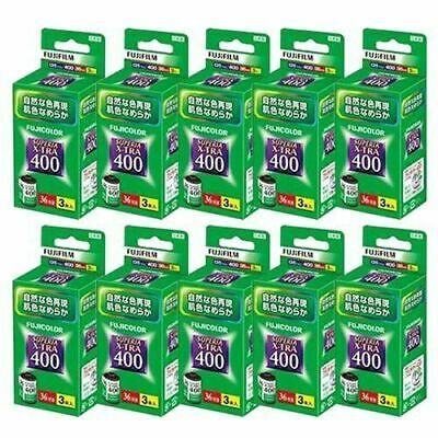 3 packs 10 pieces set Fuji Film Fujicolor Superior Extra 400 36 shots taken