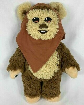 RARE Build a Bear Official Star Wars Wicket the Ewok Plush w/ Hat Scarf