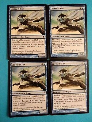 Looter il-Kor~ Time Spiral MAGIC THE GATHERING PLAYSET MTG Lp