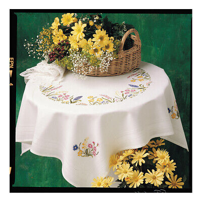 ANCHOR   Embroidery Kit: Spring Garland - Tablecloth   ETW14