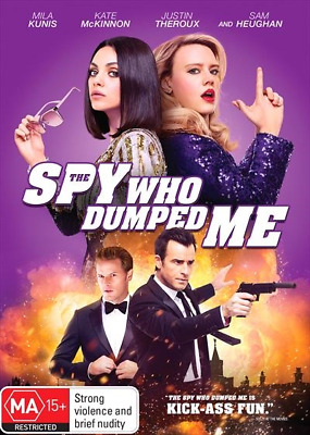 The Spy Who Dumped Me : NEW DVD
