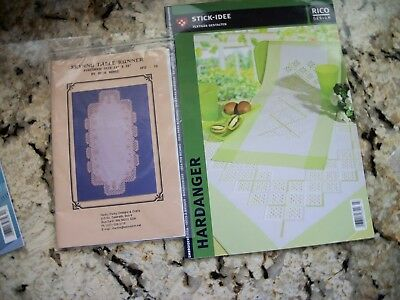 Skinny Table Runner and Rico Design Hardanger Patterns