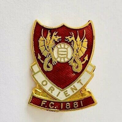 Leyton Orient Football Club Vintage Enamel Badge