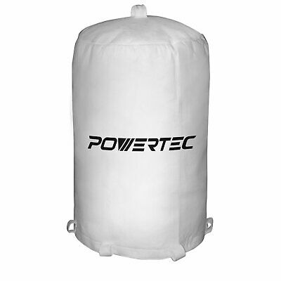 Powertec 31 inch Dust Collector Collection Sander System Filter Bag Woodworking