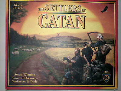 The Settlers of Catan  Board Game - Used - 3061