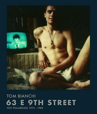 Tom Bianchi NYC Polaroids vtg 70s 63 9th Street male nude beefcake stonewall gay