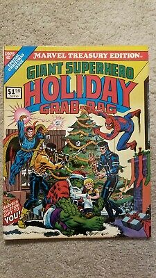 Marvel Treasury Edition # 8 Giant Superhero Holiday Grab Bag