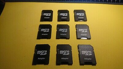 MicroSD to Full Size SD Adapters