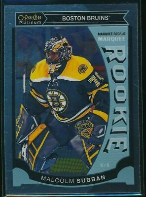2015-16 O-Pee-Chee Platinum Marquee Rookies #M5 Malcolm Subban RC