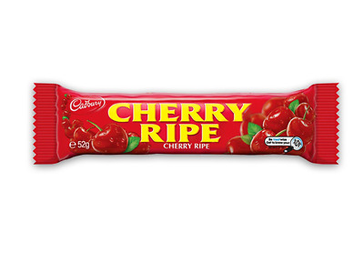 Cadbury Cherry Ripe Bar 52g Box of 48
