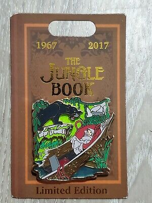 Disney Parks The Jungle Book 50th Anniversary Limited Edition Pin