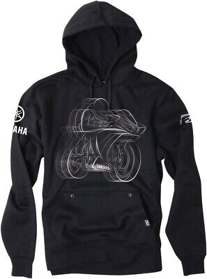 Factory Effex 16-88226 Yamaha R1 Pullover Hoodie XL