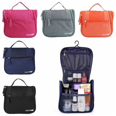 Travel Hanging Toiletry Waterproof Cosmetic Organizer Storage Case Bag Pouch