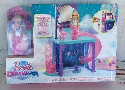 New 2017 Barbie Dreamtopia Doll and Vanity With Slide Playset *SEE PICS*