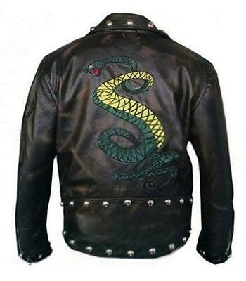 bd3b5c23d GENUINE DISTRESSED LEATHER Fallout Tunnel Snakes Rule Jacket ...