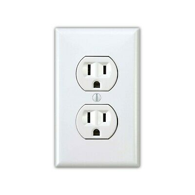 Power Outlet Stickers electrical sticker 1 pack Prank Fake Joke Funny