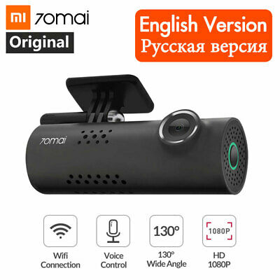 1080P Xiaomi 70mai Car DVR Wifi APP English Voice Control Dash Cam Night Vision