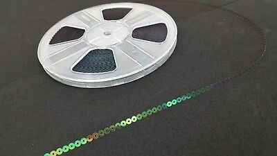 3 x 100mtr SEQUIN REELS - For Embroidery & Crafting - Gold, Iridescent & Opaque!