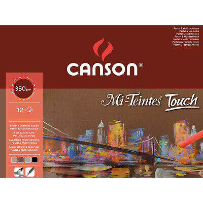 Mi-Teintes Touch Pastel Paper Pad A3 350gsm