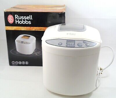 Russell Hobbs 18036 Fast Bake Breadmaker Machine 12 Program White