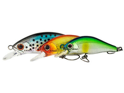 Palms Andre/'s Gig 115S 11,5cm 45g Sinking Lure Tuna COLOURS NEW 2019
