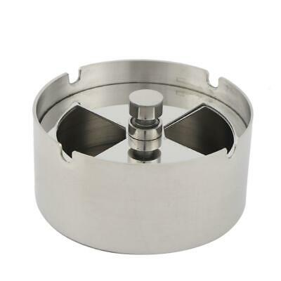Mini Square/Round Ashtray Smoking Cigarette Ash Tray Rack for Home Office Bar