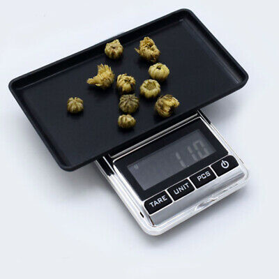 Digital Pocket Mini Scale 500g/0.01g Jewelry Gold Silver Coin Grain Gram Herb