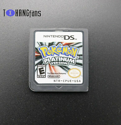 Pokemon Platinum USA Version Video Game Card For Nintendo NDS 3DS DSI NDSL ATF