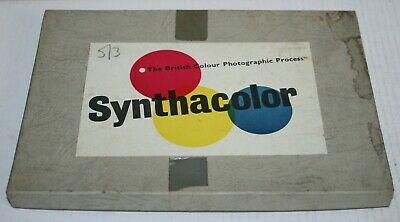 Synthacolor Safelight No 1 Glass Filter - Film Photography Developing Darkroom