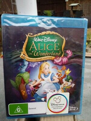 Alice in Wonderland (1951)  60th Anniversary Edition Blu-ray [New & Unsealed]