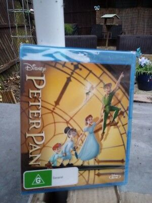 Peter Pan     Blu Ray     Brand New And Sealed Region Free Cheapest On Ebay