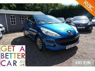 Peugeot 207 1.4 S – 57 Reg – 97K - £91 PM – No Deposit Car Finance