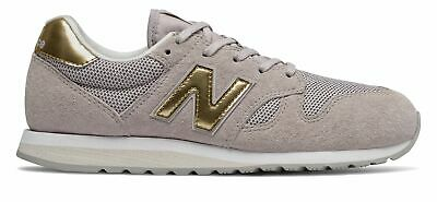 NEW BALANCE WL520CC B 520 Floral Suede Pink Ivory Gold Women