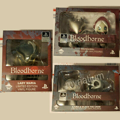 Hunter Doll Djura Hunter Bloodborne Vinyl 4 Figure SET Eileen The Crow