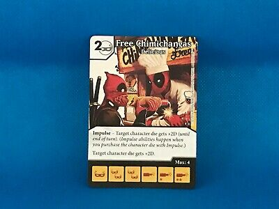 Dice Masters Deadpool #057 Free Chimichangas Aged to Perfection