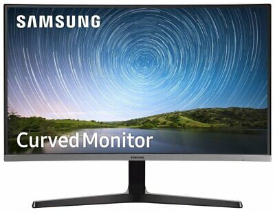 "NEW Samsung Curved 32"" FHD Super Slim Gaming LED Monitor White - LC32F391FWNXZA"