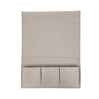 South Shore Storit Beige Canvas Bedside Storage Caddy New