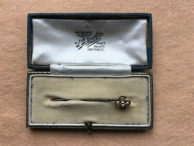 Victorian  15ct Gold Aesthetic Movement Tie Pin