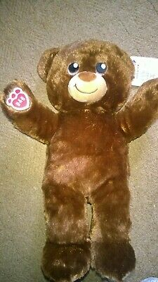 Build A Bear  Workshop Teddy Bear  New With Tags Soft Toy Brown Babw