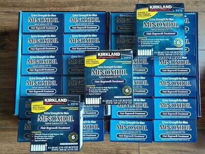 Kirkland Signature Minoxidil 5% Pack of 6x60ml