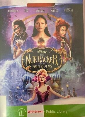 The Nutcracker and the Four Realms DVD Ex-library