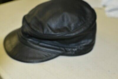 40fb0da38d9418 Genuine Leather, Army Muir Biker Peaked Police Gay Military style Cap With  Chain. $74.80 0 Bids 6d 14h. See Details. Mr S Leather of San Francisco  Leather ...