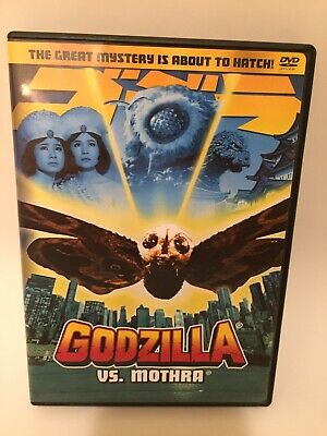 Godzilla Vs Mothra DVD Great Mystery Is About To Hatch DVD Tested Free Shipping