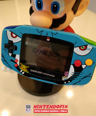 Game Boy Advance AGS-001  Console Custom Made and Refurbished