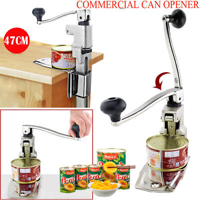 Large Catering Commercial Bench Can Opener/Tin Opener Table Clamp Heavy Duty