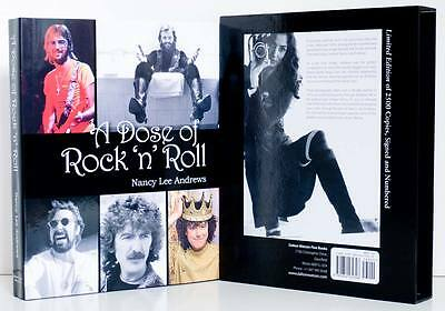 ROCK 'N' ROLL Signed Slipcase Beatles Eric Clapton Leon Russell More Music HC