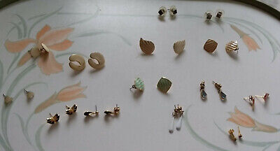 Costume Jewellery Earrings  - Bulk - Joblot - Sale - Bargain - 14 Earrings